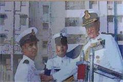 deepak saini was honored by the president fishermen were saved during cyclone