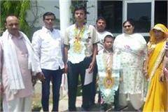 two haryana players won medals taekwondo national championship