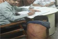 the teacher beat the student when not counting