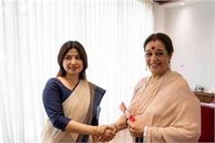shatrughan sinha s wife joined sp