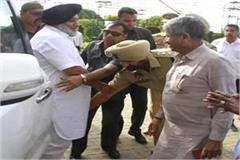 dsp transferred to sukhbir badal feet