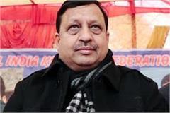 virendra kanwar s comment on statement of power minister target on sukhram