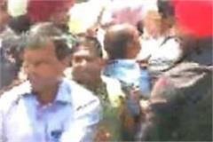 congress worker entangled with captain s security personnel