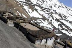 after snowfall in lahaul spiti derailed life