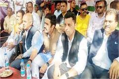 mandi ashray sharma vikramaditya public meeting
