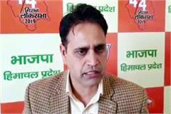 media incharge praveen sharma what said on bjp s resolution letter