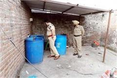 police big action in indaura