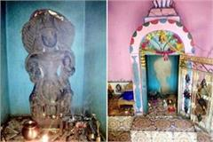 hundreds of years old sculpture theft from the temple