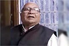 former bjp minister choudhary vidyasagar passes away