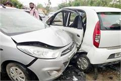 one death and 3 injured in cars accident