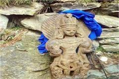 sculpture stolen from nag devta temple recovered
