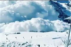 glacier fall into kullu 2 house collapse death of 27 cattles