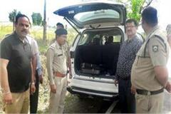 rs 12 lakh recovered from punjab s vehicle