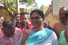 anupriya patel s vote in line