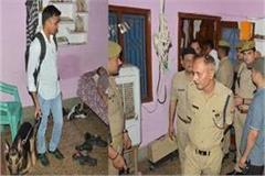the policeman posted at bijnor is hanged