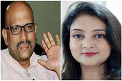 ajay rai and shalini yadav voted