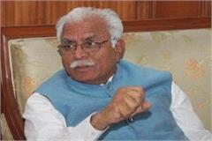 manohar lal khattar said congress has given 55 years to corruption