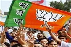 bjp raises questions on congress s 4 month work issued charge sheet