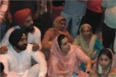 attack on aap candidate baljinder kaur