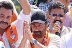 sunny deol speak against sunil jakhar
