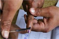 voting on eight seats of mp