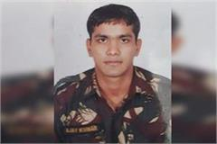 haryana soldier sandeep martyred in encounter between army and terrorists