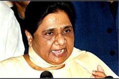 bjp mps get angry says mayawati up