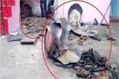 cracked gas cylinder in bahraich mother daughter s scorching death
