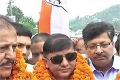 ramlal thakur took the road show in sujanpur