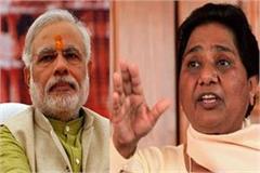 mayawati replies to modi