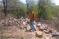 illegal mining in aravali from the collusion of officials continues