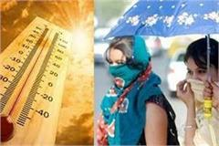 heavy heat rains in mp 44 degrees crossing in bhopal