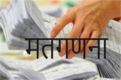 arrangement for counting votes in kanpur