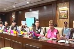 foreign delegation to see the electoral process