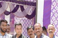 ashray sharma big allegations on bjp leaders