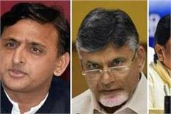 chandrababu naidu meets mayawati and akhilesh