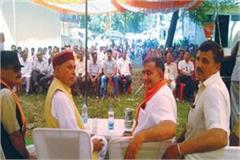 prem kumar dhumal target on congress