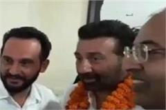 sunny deol first political action in pathankot