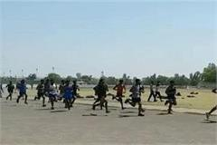 youth put emphasis on open recruitment of army in the heat