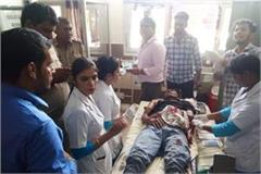 lethel attack on young guy referred to karnal