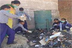 cleanliness drive in school