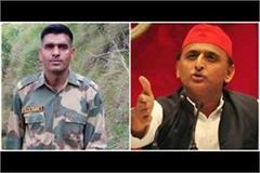 akhilesh yadav gave a big statement after bahadur s nomination was canceled
