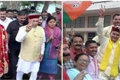 election result himachal 4 candidates of pratishtha crown