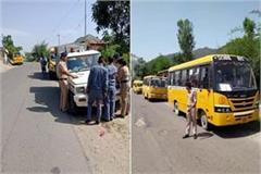 2 school buses seized by police