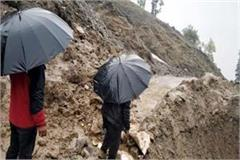 landslide in rohtang pass
