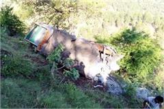 death of one in truck and tractor accident