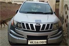 attack on vehicle of aap leader