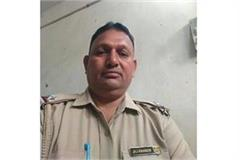 asi posted in farrukhnagar police station committed suicide