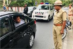 e challan of duty constable for not wearing helmet by dgp