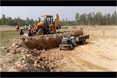 illegal mining overloading police station answers sought